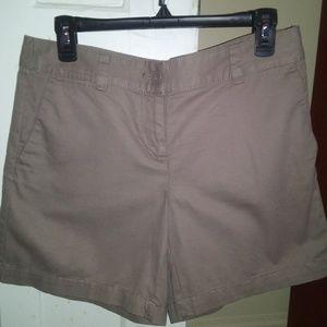Ann Taylor LOFT Brown /dark beige  Shorts  Size 4